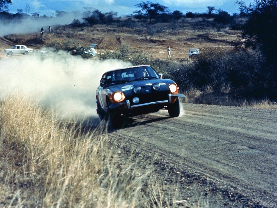 日産フェアレディZ(1973年、東アフリカサファリラリー)《写真提供 日産自動車》