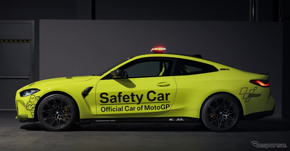 BMW M4 クーペ 新型のMotoGPセーフティカー《photo by BMW》