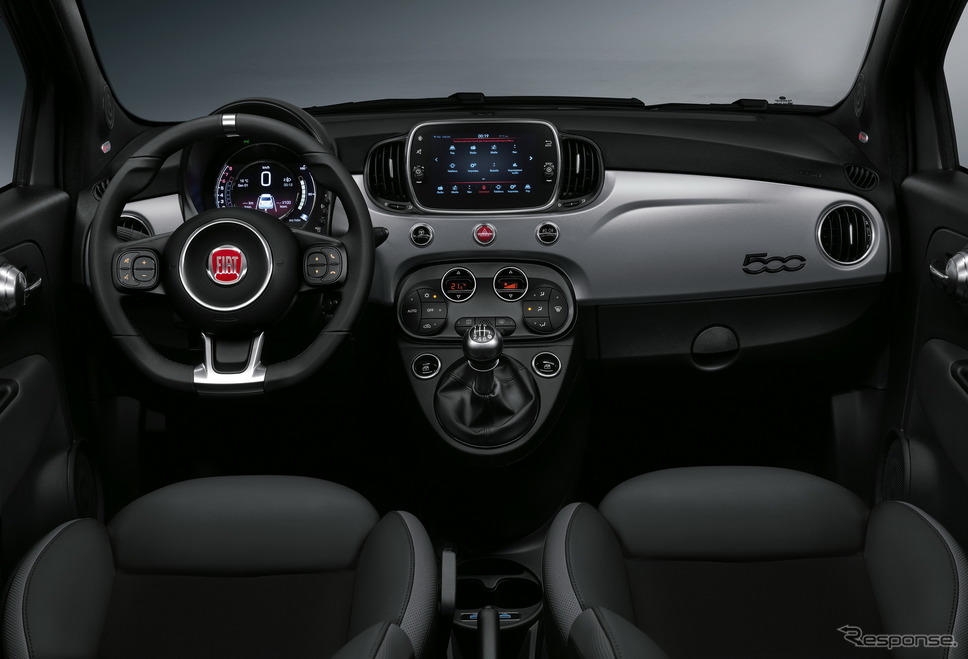 フィアット 500 の2021年モデル(コネクト)《photo by Fiat》