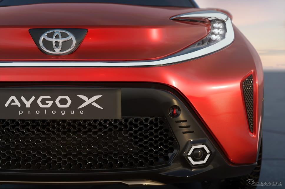 トヨタ・アイゴXプロローグ《photo by Toyota》
