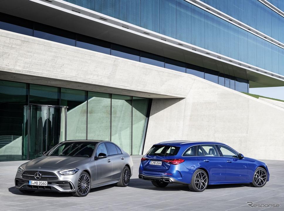 メルセデスベンツ Cクラス 新型《photo by Mercedes-Benz》