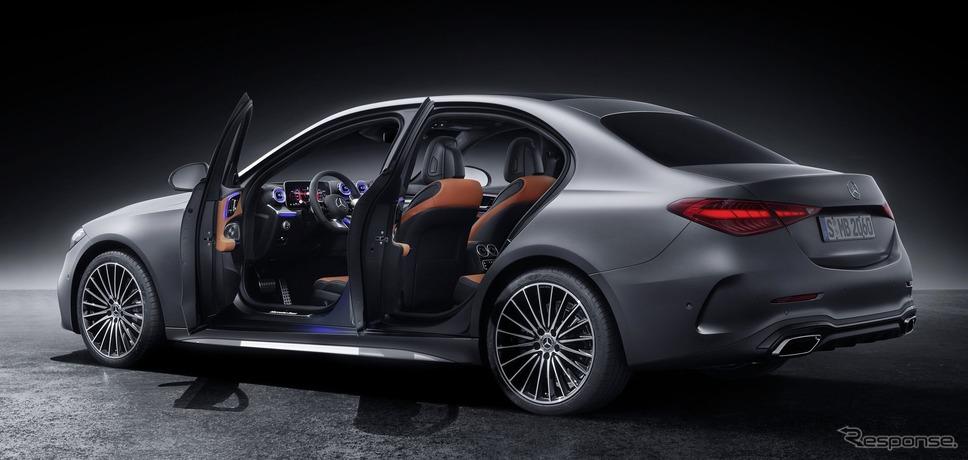 メルセデスベンツ Cクラス・セダン 新型《photo by Mercedes-Benz》