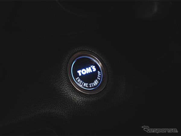 TOM'S プッシュスタートボタン003《写真提供 トムス》