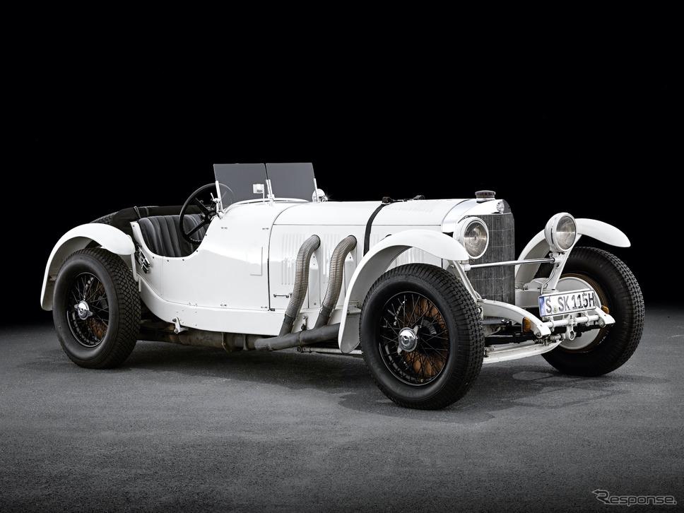 ルパン三世の車:メルセデスベンツSSK《photo by Daimler》