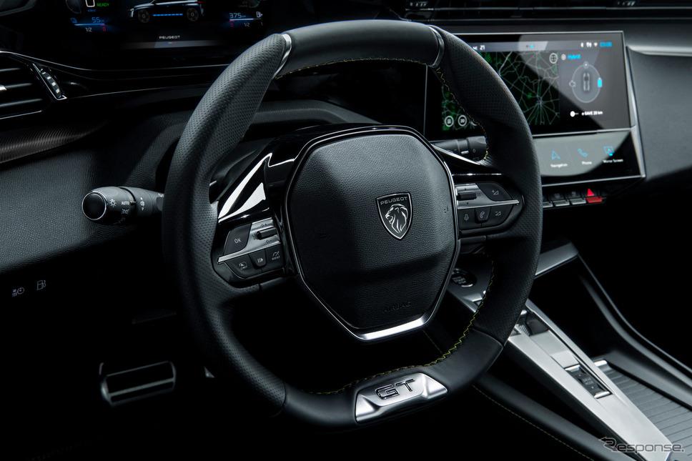 プジョー 308 新型のPHV《photo by Peugeot》