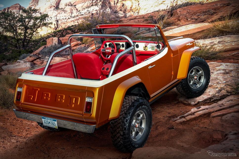 ジープのコンセプトカー「ジープスター・ビーチ」《photo by Jeep》