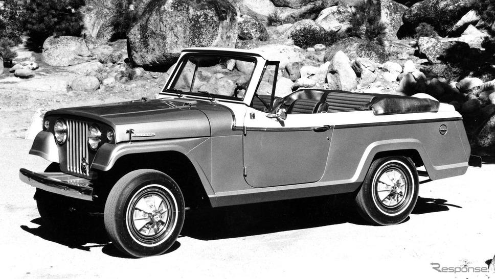 ジープの「ジープスター・コマンド」のコンバーチブル(1967年)《photo by Jeep》