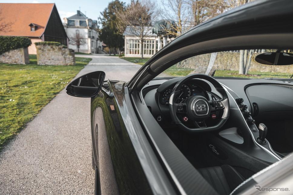 ブガッティ・シロン・ピュルスポール の特別モデル《photo by Bugatti》