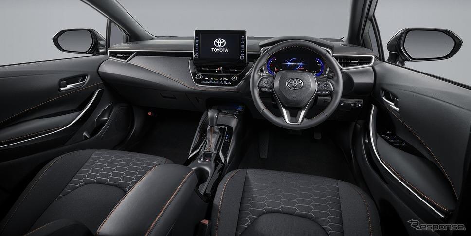 トヨタ カローラ ツーリング アクティブライド(内装色ブラック)《写真提供 トヨタ自動車》