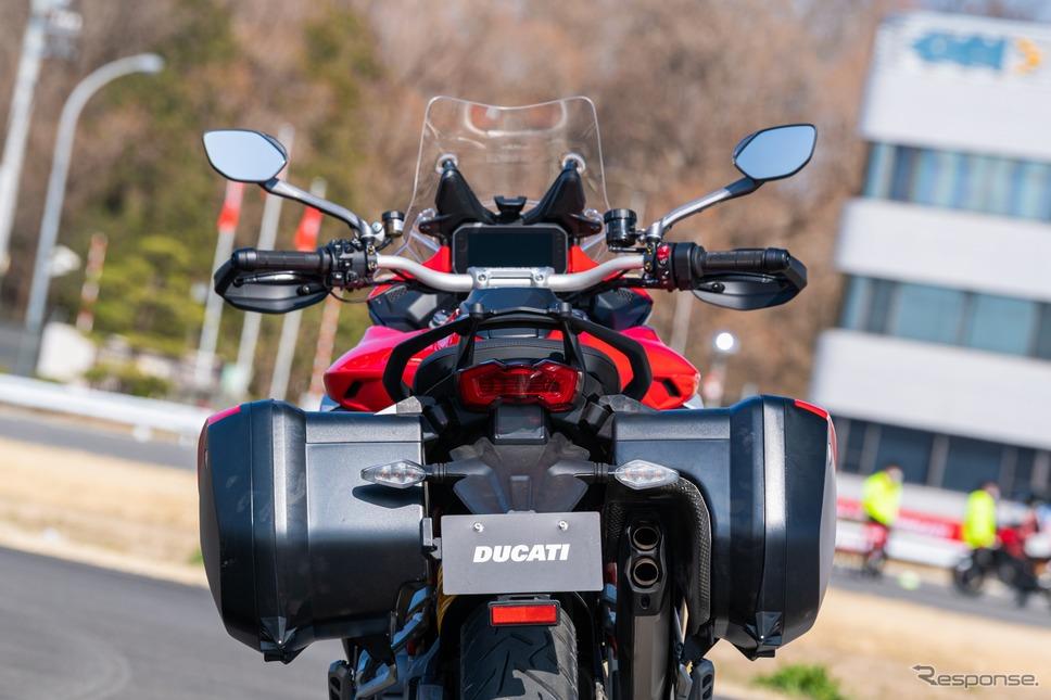 ドゥカティ ムルティストラーダV4S 新型試乗《写真撮影 土屋勇人》