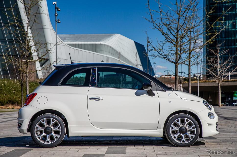 フィアット 500 の「ハイ、グーグル」仕様車《photo by Fiat》