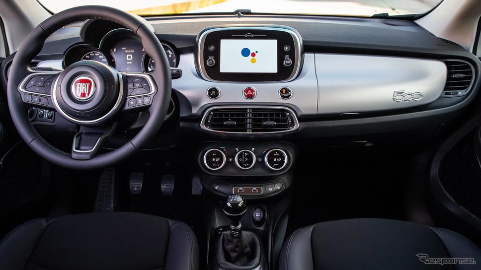 フィアット 500X の「ハイ、グーグル」仕様車《photo by Fiat》