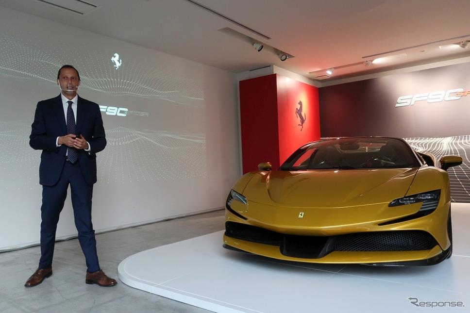 フェラーリ・ジャパンのフェデリコ・パストレッリ代表取締社長《写真撮影 工藤貴宏》