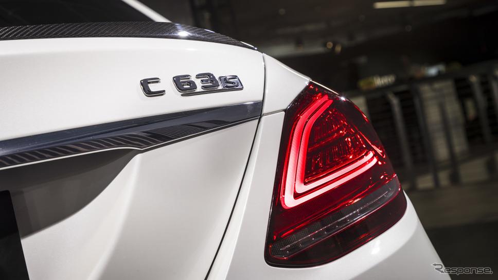 メルセデス AMG C63 S セダン 現行型(参考)《photo by Mercedes-Benz》