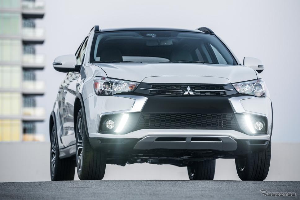 三菱アウトランダースポーツ(RVRに相当)(北米仕様)《photo by Mitsubishi Motors》
