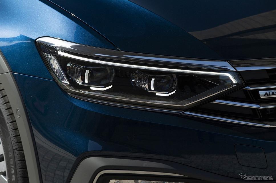 VW パサート LEDマトリックスライト IQLIGHT《写真提供 フォルクスワーゲン グループ ジャパン》