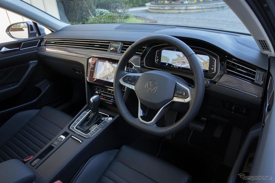 VW パサート インパネ回り《写真提供 フォルクスワーゲン グループ ジャパン》