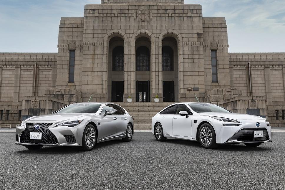 レクサス LS/トヨタ MIRAI(アドバンスド ドライブ)《写真提供 トヨタ自動車》