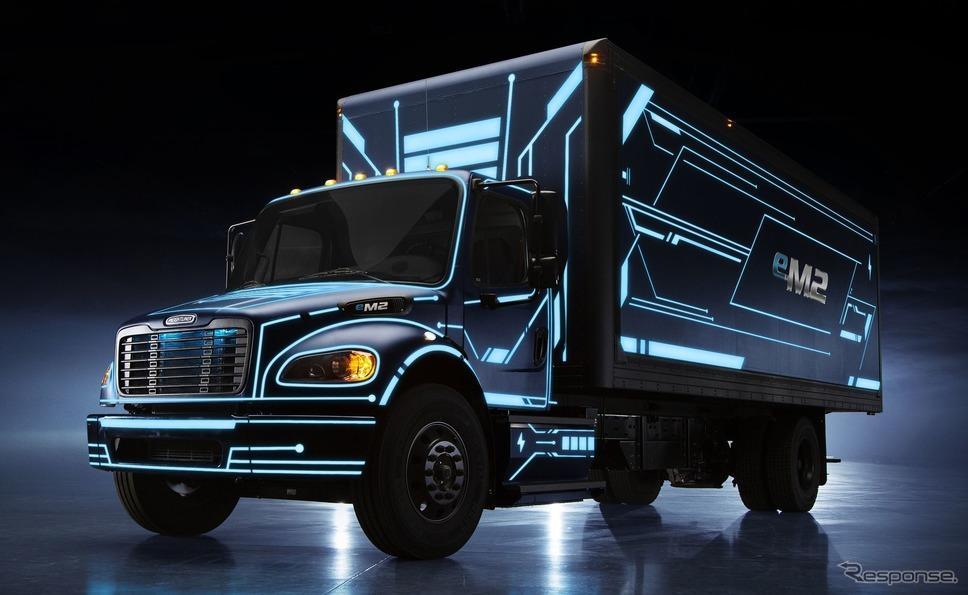 ダイムラーのEVトラック、フレートライナー『eM2』《photo by Daimler》