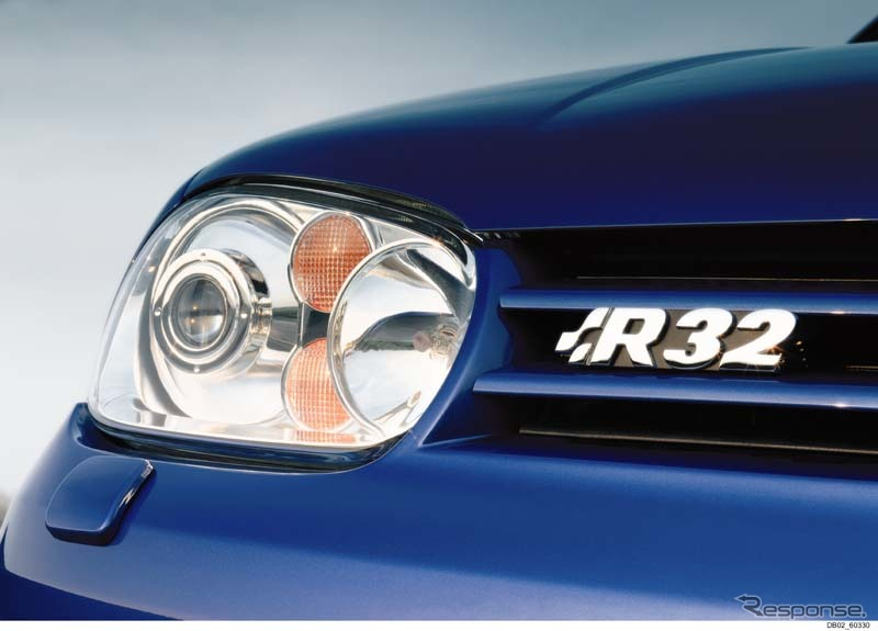 フォルクスワーゲン ゴルフ R32《photo by VW》