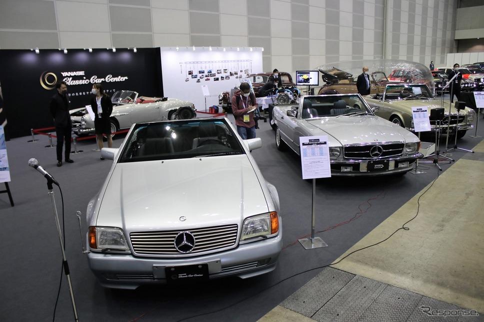 オートモビルカウンシル2021 ヤナセクラシックカーセンターブース《写真撮影  内田俊一》