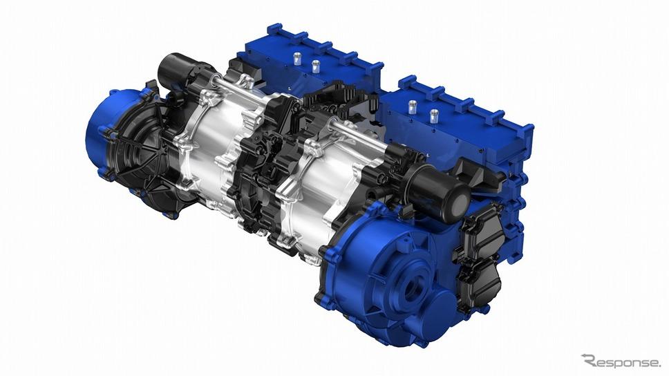 ヤマハ発動機のハイパーEV向け電動モーターユニット(試作品)《写真提供 ヤマハ発動機》