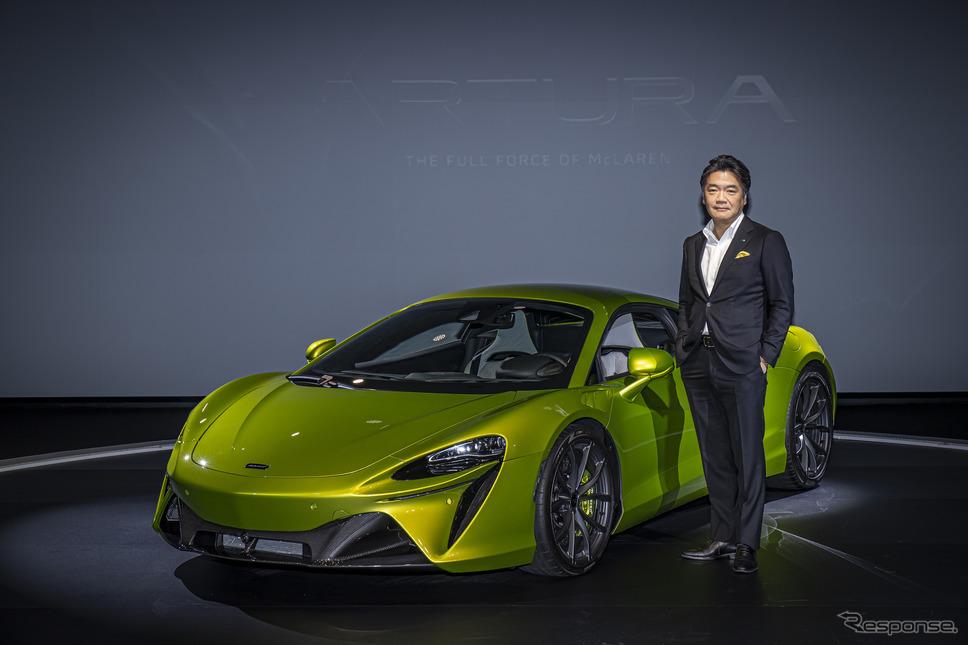 マクラーレン・オートモーティブ アジア日本支社の正本嘉宏代表《写真提供 マクラーレン・オートモーティブ》