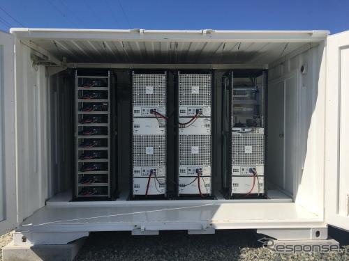 定置式燃料電池《画像提供 豊田通商》