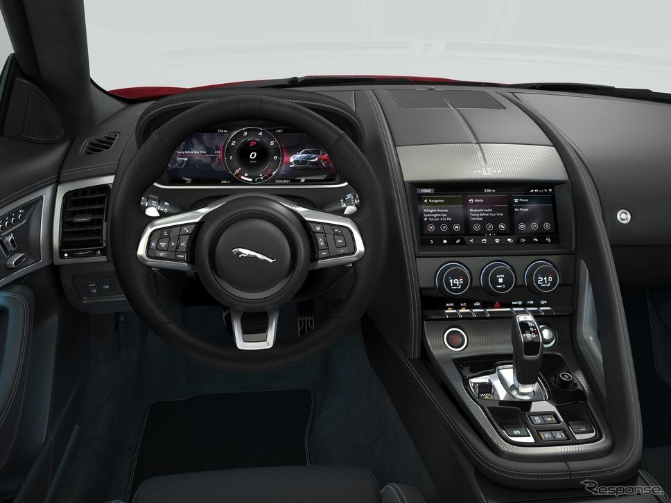 ジャガー Fタイプ の2022年モデルの「Rダイナミックブラック」《photo by Jaguar》
