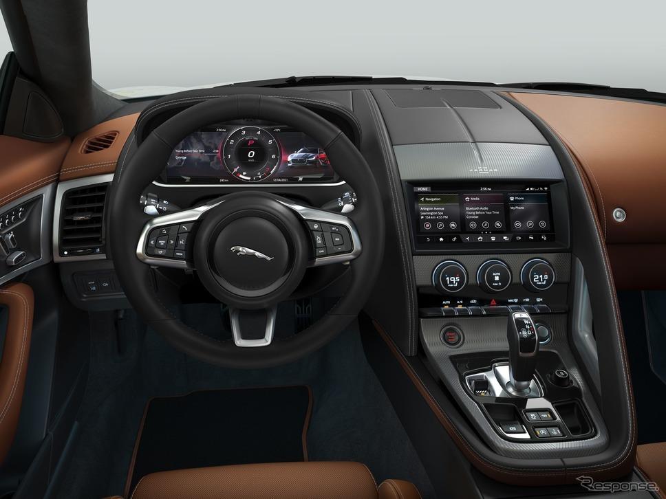 ジャガー Fタイプ の2022年モデルの「Rダイナミック」《photo by Jaguar》