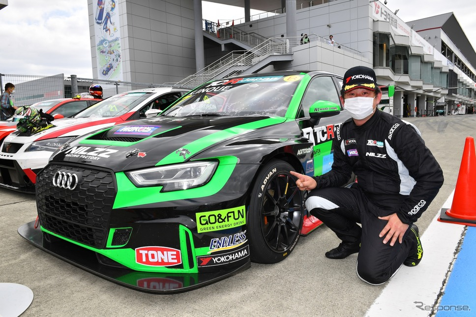 #7 井上恵一選手(アウディ RS3 LMS)《写真提供 TCR Japan》
