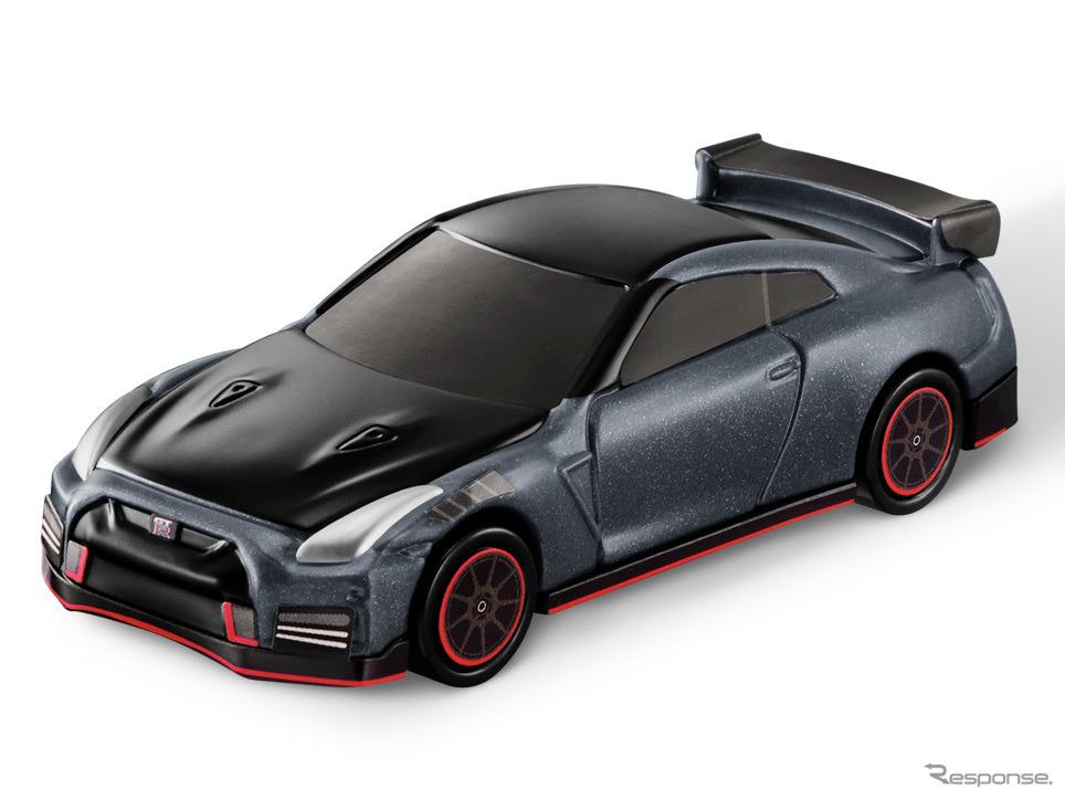 トミカハッピーセットのおもちゃ:日産GT-R NISMO 2022年モデル《写真提供 日産自動車》