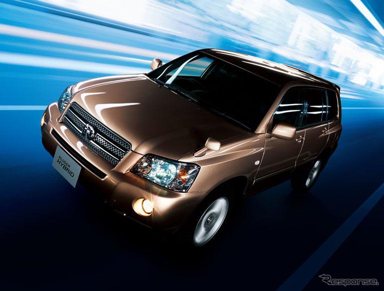 トヨタ・クルーガー(2000〜2007年)《photo by Toyota》