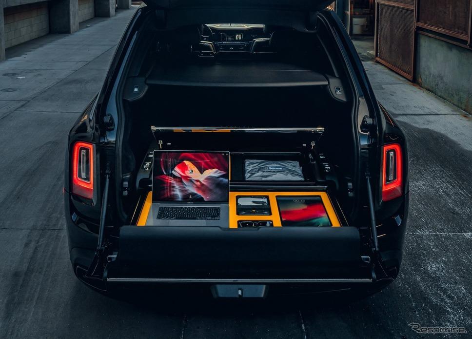 ロールスロイス・カリナン 向けの新カスタマイズオプション「アーバンフォトグラフィー・レクリエーションモジュール」《photo by Rolls-Royce》