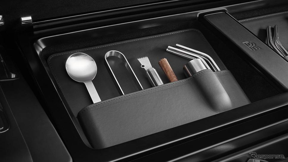 ロールスロイス・カリナン 向けの新カスタマイズオプション「ホスティングサービス」《photo by Rolls-Royce》