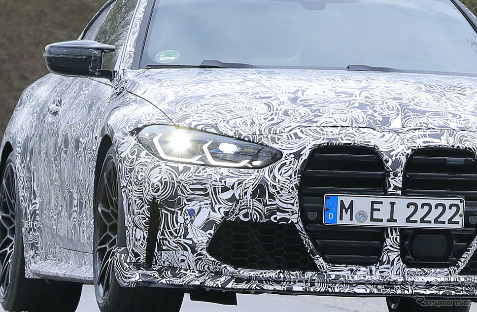 BMW M4 CSL 市販型プロトタイプ(スクープ写真)《APOLLO NEWS SERVICE》
