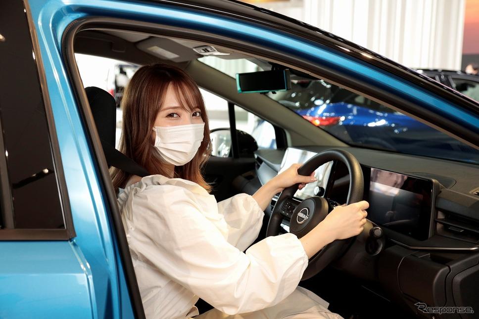 市販車へは自由に乗り込み可能《写真提供 日産自動車》