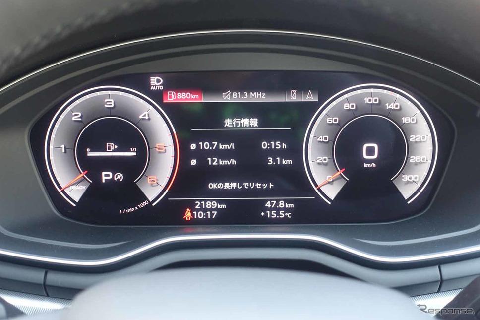 アウディ A4 35 TDI アドバンスト《写真撮影 中村孝仁》