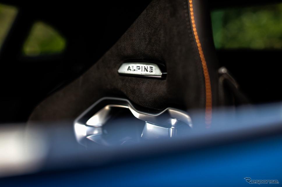 アルピーヌ A110トラックサイドカー《photo by Alpine》