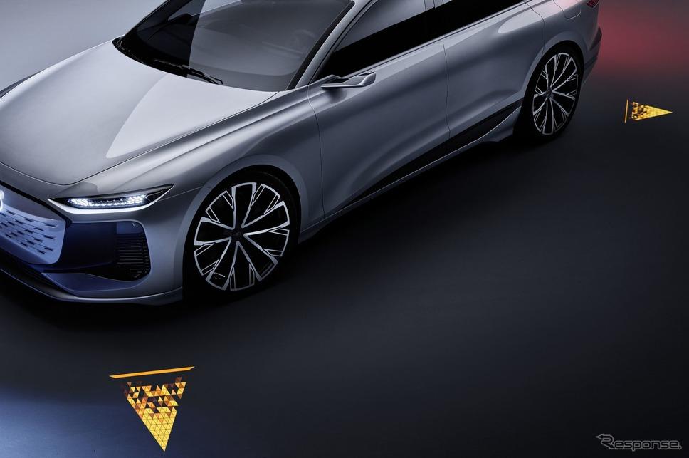 アウディ A6 e-tron コンセプト《photo by Audi》