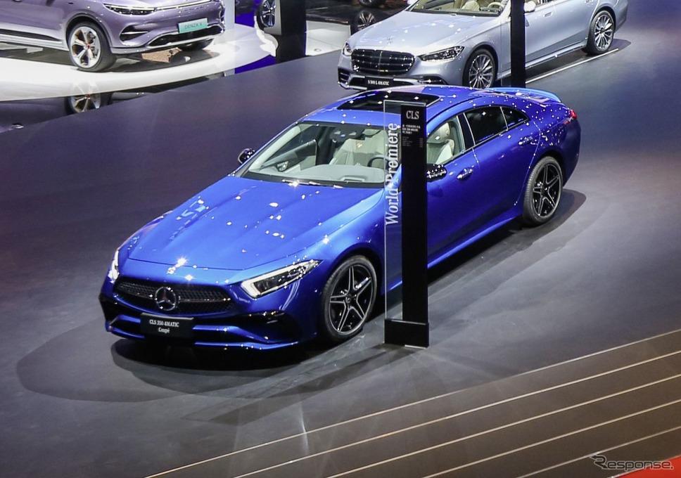 メルセデスベンツ CLS クーペ 改良新型(上海モーターショー2021)《photo by Mercedes-Benz》
