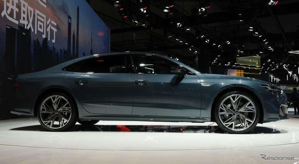 アウディ A7 L(上海モーターショー2021)《photo by Audi》