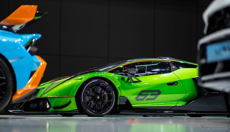 ランボルギーニ・エッセンサ SCV12(上海モーターショー2021)《photo by Lamborghini》