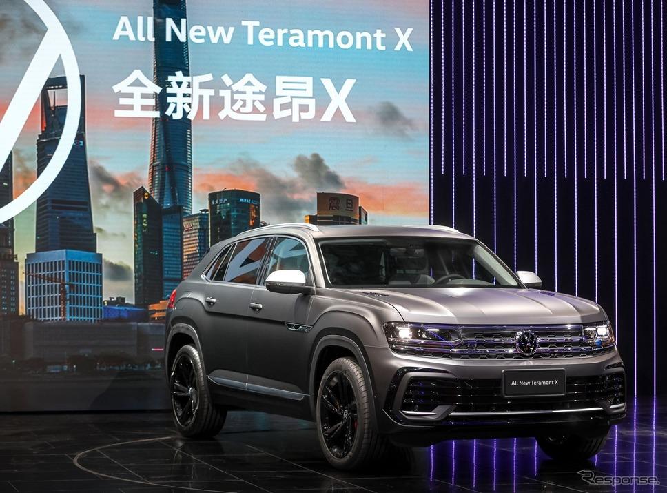 フォルクスワーゲン・テラモント X 改良新型(上海モーターショー2021)《photo by VW》