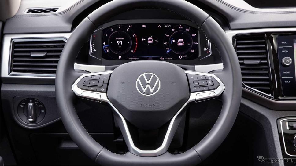 フォルクスワーゲン・テラモント 改良新型《photo by VW》