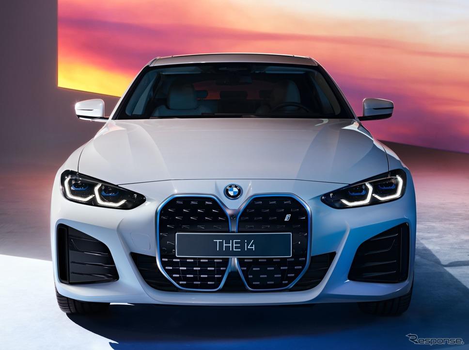 BMW i4 のMスポーツ(プロトタイプ)《photo by BMW》