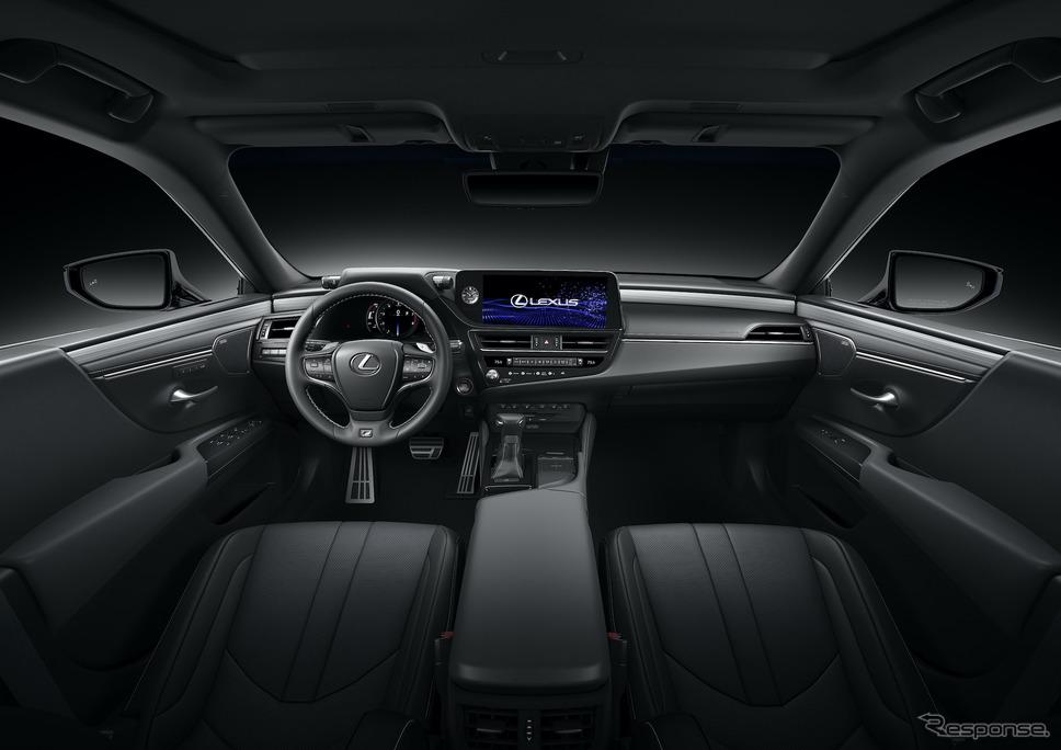 レクサスES 改良新型(2022年型北米仕様)《photo by Lexus》