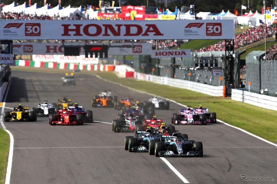 2018年F1日本GPの模様(鈴鹿)《写真提供 MOBILITYLAND》