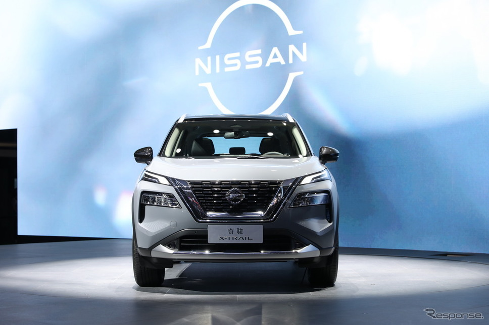 日産 エクストレイル 新型(上海モーターショー2021)《写真提供 日産自動車》