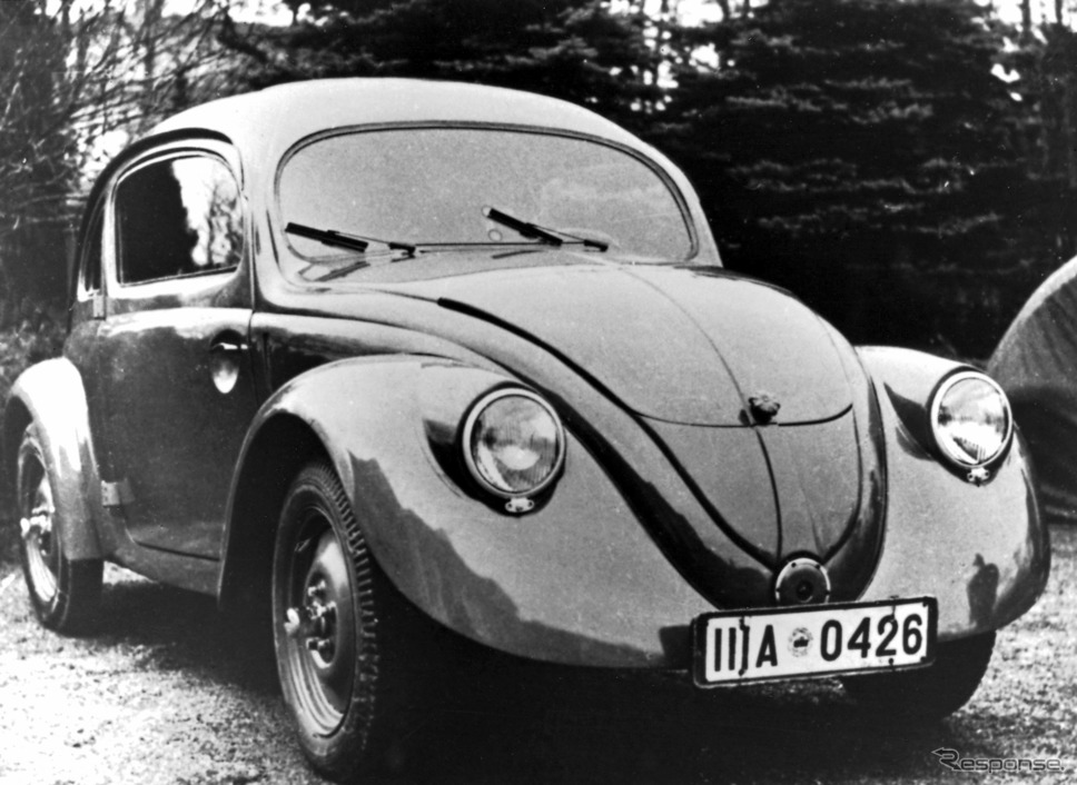 初代 VW ビートル《photo by Volkswagen》
